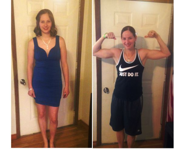 Amy Jensen goes from minimum effort to feel good to maximum effort to achieve success!