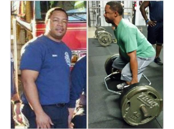 Gerald Scott thanks God for Fit First Responders!